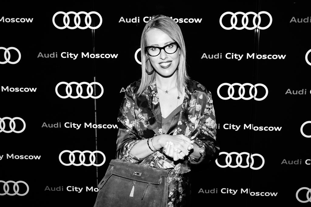 Ксения-Собчак.-Audi-City-Moscow